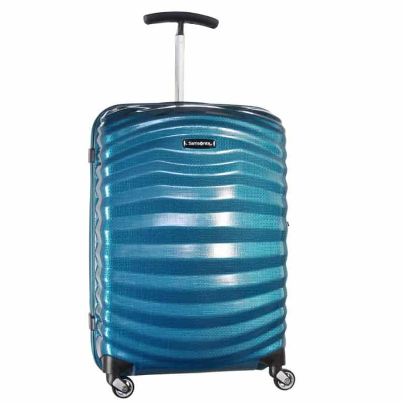 Samsonite Lite-Shock Spinner 55cm tevredenconsument handbagage koffer Voorkant